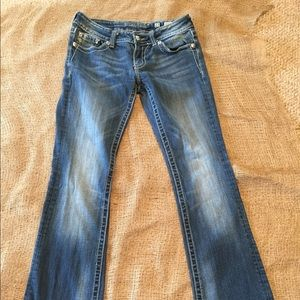 Miss Me Boot Cut Jeans: size 27